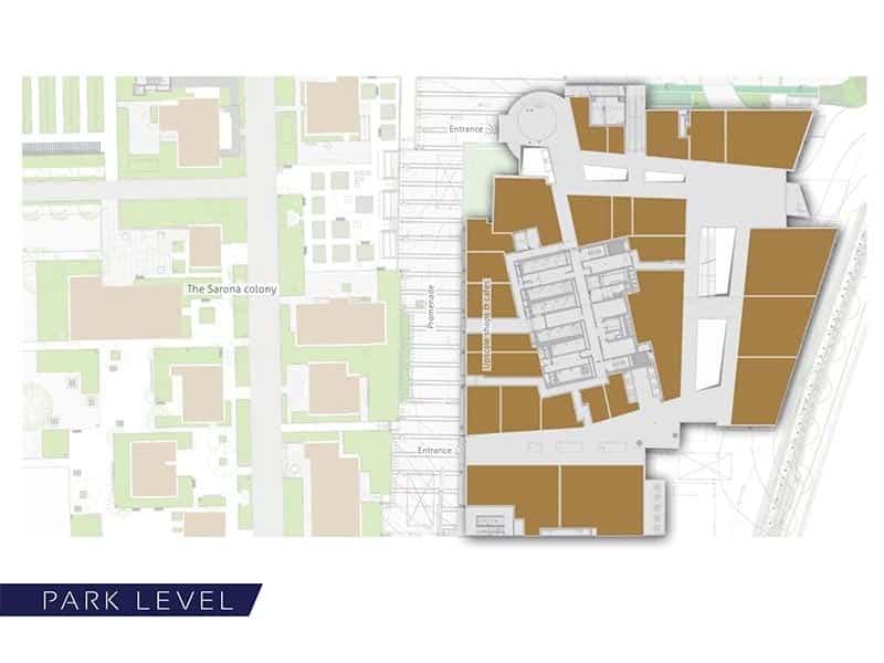 Azrieli-Sarona-park-level-plan